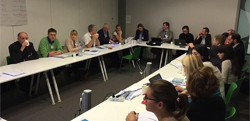 პირველი სამუშაო შეხვედრა ბოლონიის პროცესის სამუშაო ჯგუფების თანათავმჯდომარე ქვეყნების წარმომადგენლებთან