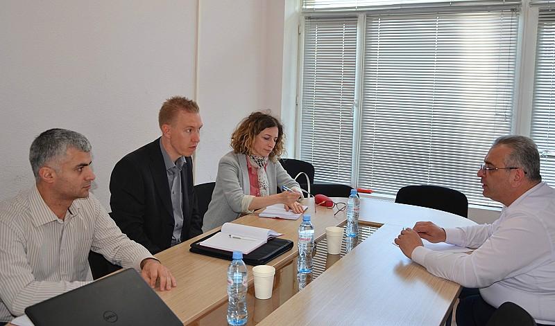 შეხვედრა გერმანიის საერთაშორისო თანამშრომლობის ორგანიზაციის წარმომადგენლებთან