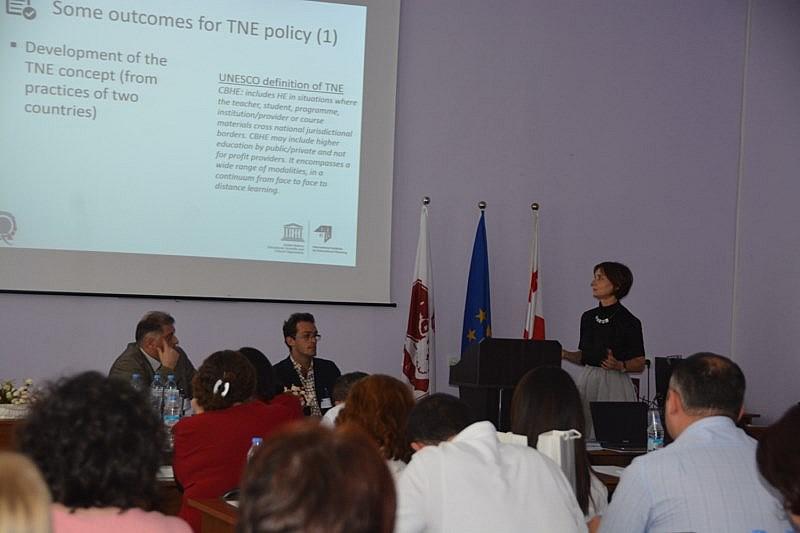 საერთაშორისო კონფერენციაზე ტრანსნაციონალური განათლების ხარისხის განვითარების შესახებ იმსჯელეს