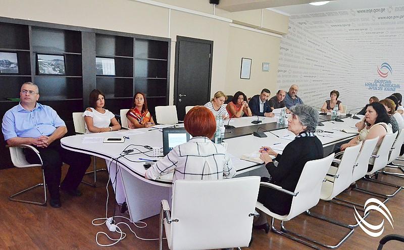 პროფესიული საგანმანათლებლო დაწესებულებების ავტორიზაციის სტანდარტების პროექტის პირველი საჯარო განხილვა