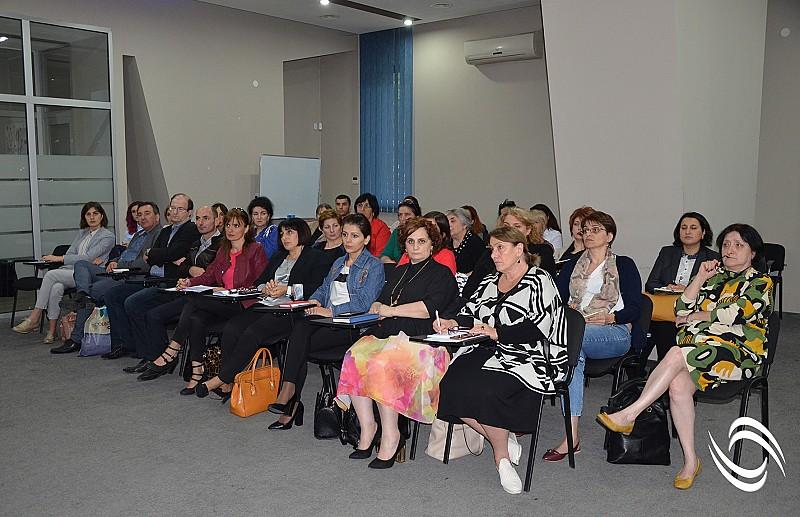 საინფორმაციო შეხვედრა მოდულური პროფესიული პროგრამების განმახორციელებელ საგანმანათლებლო დაწესებულებების შიდა მხარდაჭერის ჯგუფის წევრებთან