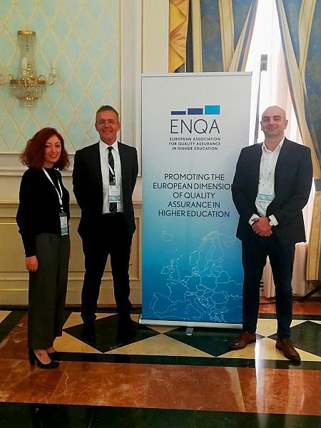 ცენტრის დელეგაცია, ENQA-ს მეცხრე გენერალურ ანსამბლეაში მონაწილეობს