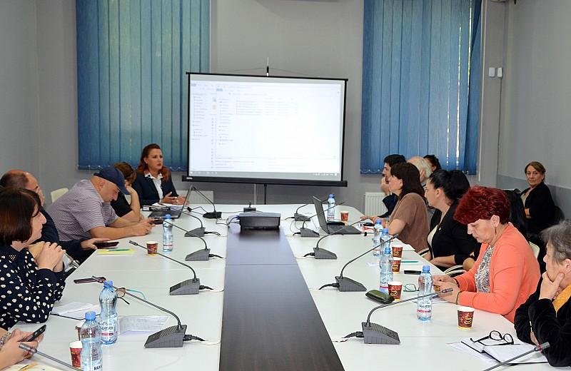 საინფორმაციო სემინარი პროფესიული მომზადებისა და პროფესიული გადამზადების სისტემით დაინტერესებული  საგანმანათლებლო დაწესებულებებისათვის
