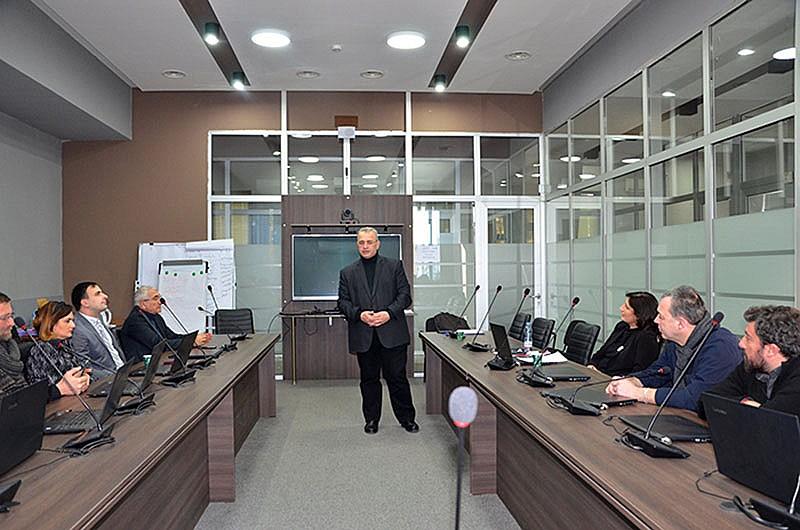 შეხვედრა ზოგადსაგანმანათლებლო დაწესებულებების ავტორიზაციის ახალი საბჭოს წევრებთან