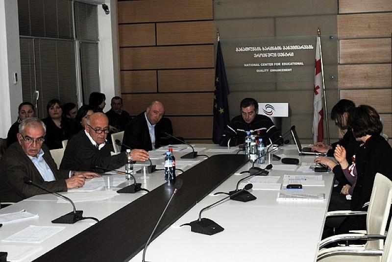 დაწესებულებები, რომლებსაც მიენიჭათ ავტორიზაცია საგანმანათლებლო დაწესებულებების ავტორიზაციის საბჭოს 2012 წლის 22 მარტის სხდომაზე