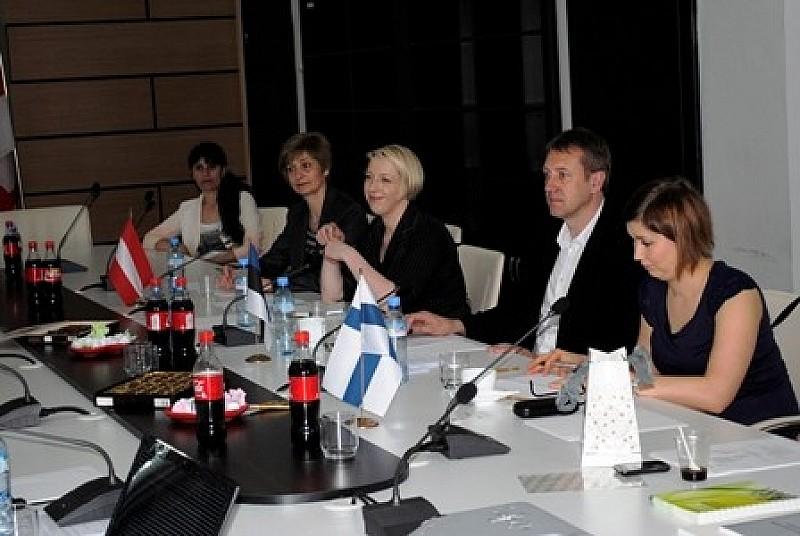 საქართველოს გამოცდილების გასაცნობად ევროპელი კოლეგები ესტუმრნენ